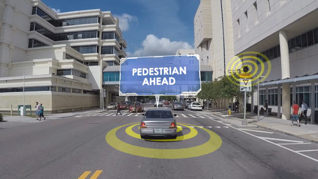Car Sensor Pedestrians
